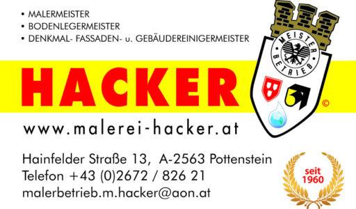 Malerei Hacker