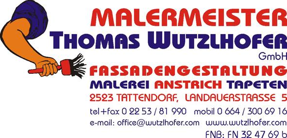 Malermeister Thomas Wutzlhofer